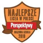 Najlepsze licea w Polsce 2019 - brazowa szkoła