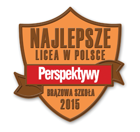 Najlepsze licea w Polsce 2015 - brazowa szkoła